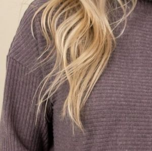 Gentle Fawn ribbed mock neck long sleeve